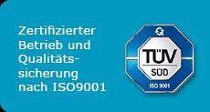 Bieler+Lang IS09001 Zertifizierung
